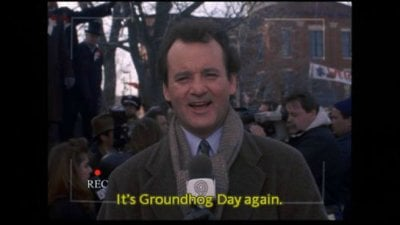 Business Groundhog day – time to break the loop